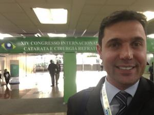 Dr Artur Schmitt participa do Congresso Internacional de Catarata e Cirurgia Refrativa