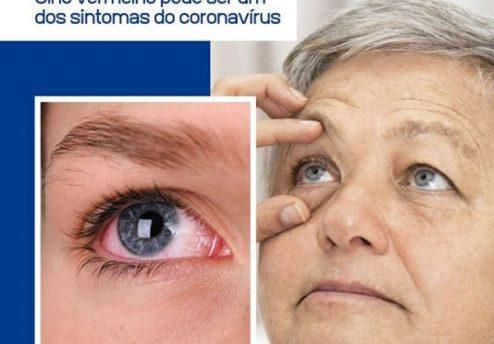olho vermelho coronavirus