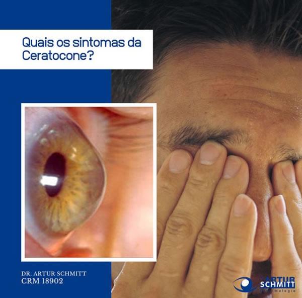 sintomas do ceratocone
